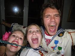 Sigrid, Emelie och Danne
