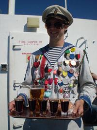 Glad sjöman