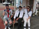 WB matroser med trevlig sjöman